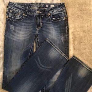 Miss Me Jeans JE1045BL Bootcut size 30